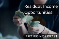 residual income opportunities