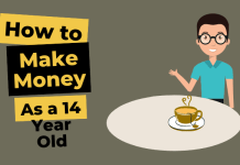 how to make money as a 14 year old