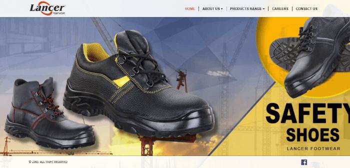 lancer footwear india