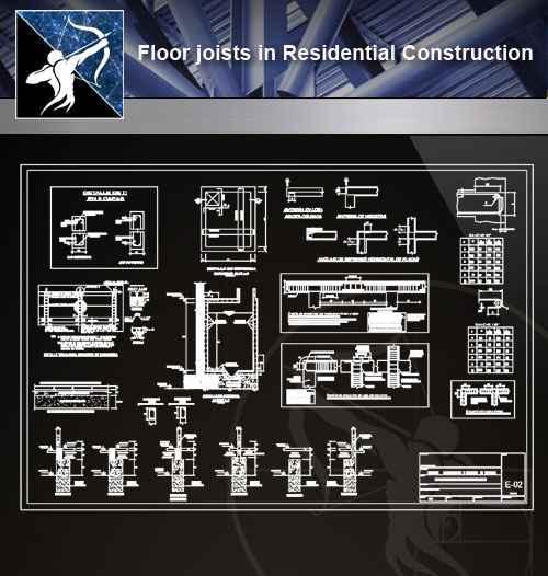 【Architecture CAD Details Collections】Flooring CAD Details V 3