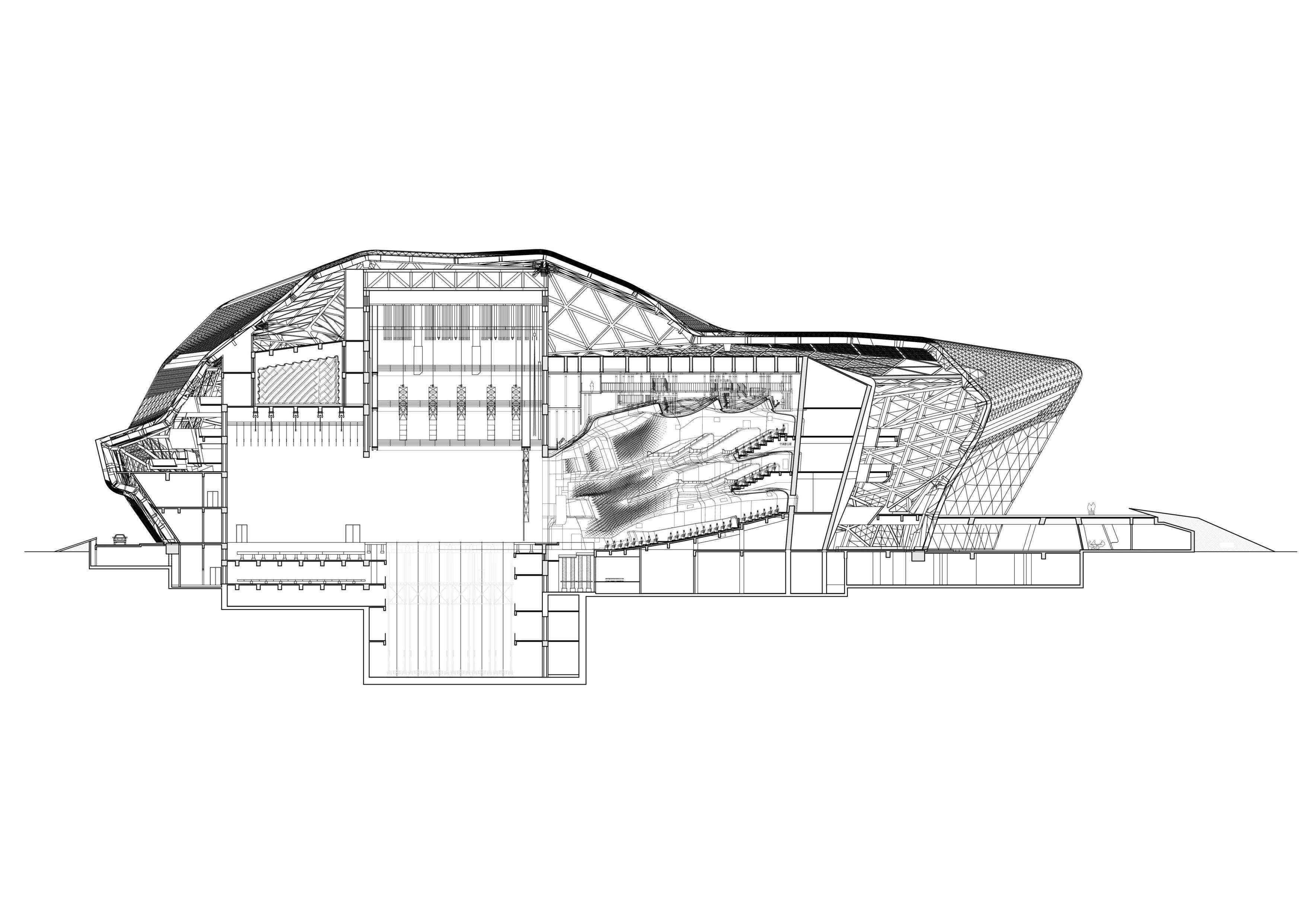 Zaha Hadid-Guangzhou Opera House