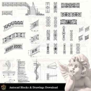 Window Details Archives - Free CAD Download World-Download