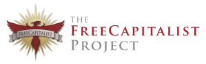 Free Capitalist Project Logo and Text