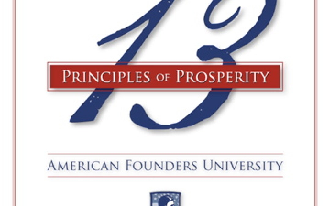 Intro:  The 13 Principles of Prosperity™