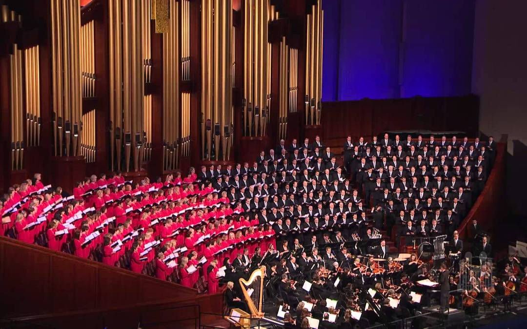 Presidential Inauguration:  The Mormon Tabernacle Choir is Setting the Right Example.