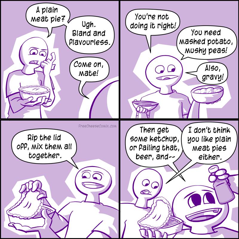 Plain Meat Pie
