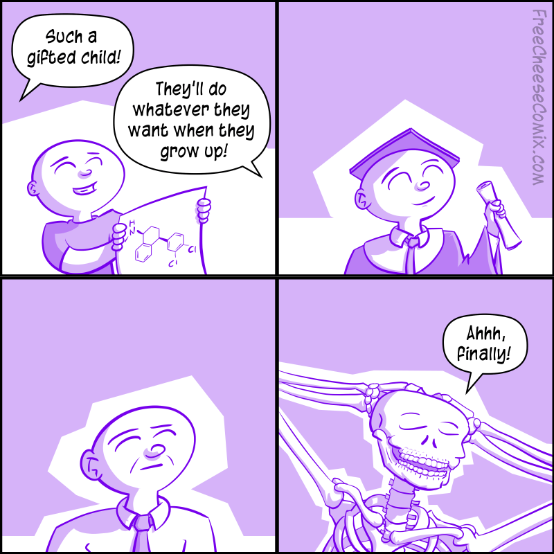 A Gifted Child Comic