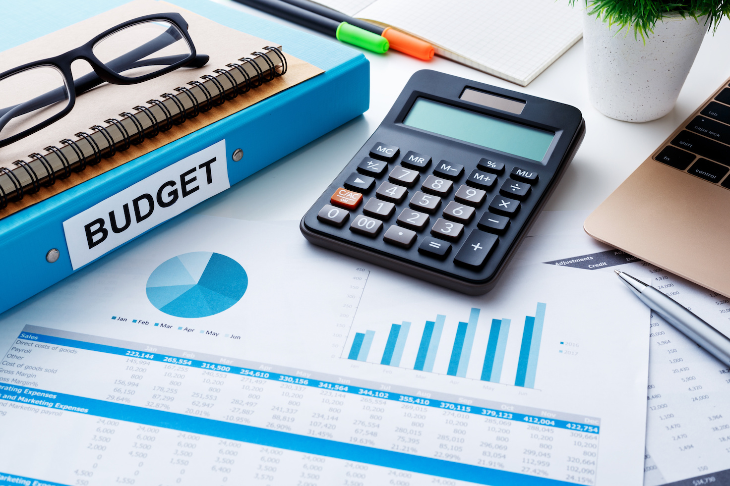 year budget spreadsheet