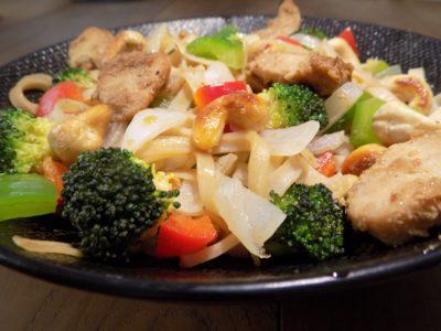 wok thai poulet cajou
