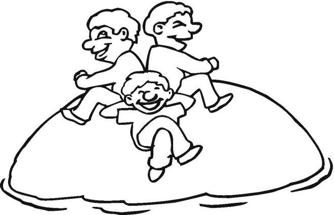 Free Playtime Coloring Pages