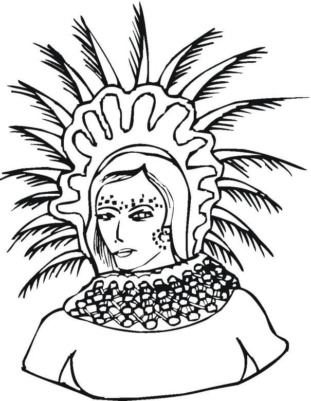 Free Cultural Diversity Coloring Pages