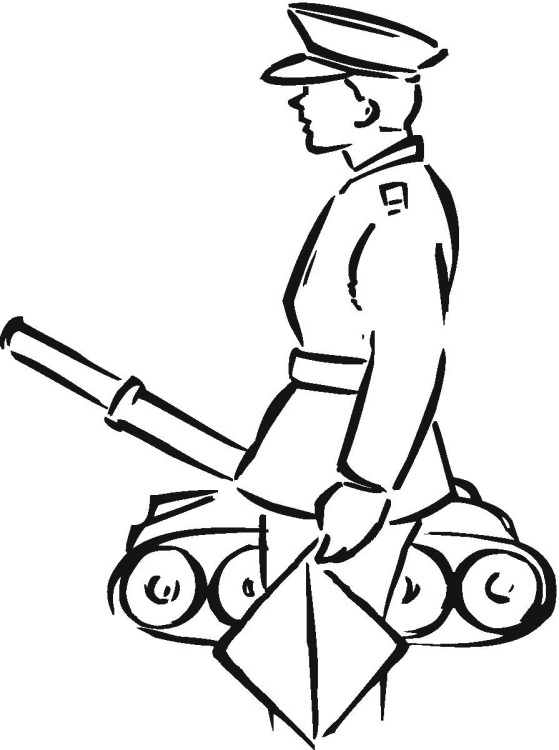 Free Military Coloring Pages