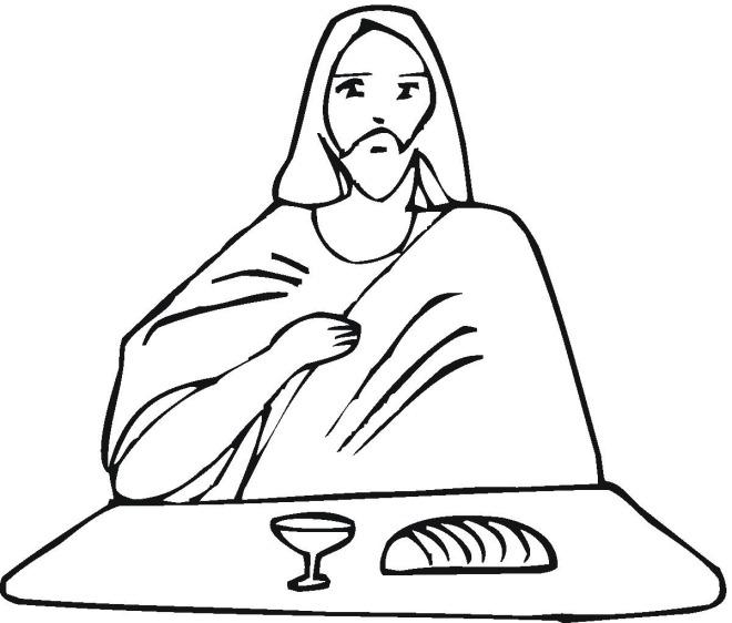 Jesus Christ Face Coloring Pages