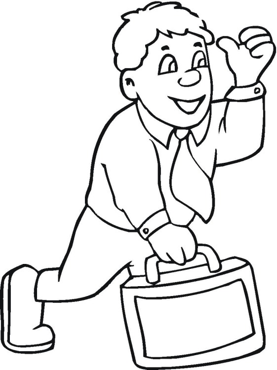 People Working Together Coloring Page Coloring Pages