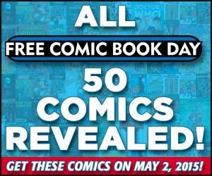 Link to FREE comic Book Day 50 Comics