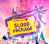 WIN A $1000 DISNEY VACATION PACKAGE FREE! (US)