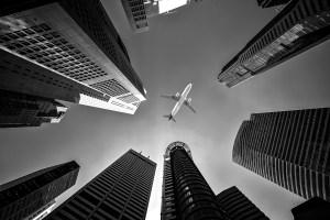 Airplane emissions