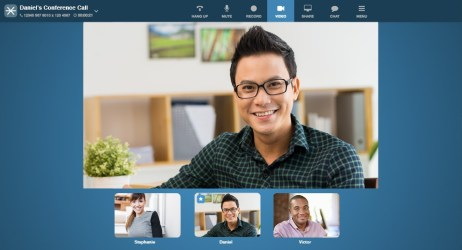 Easily set up video conference calls