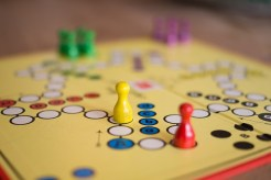board game pieces to play on a video conference call