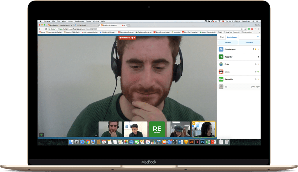 video conference call meeting