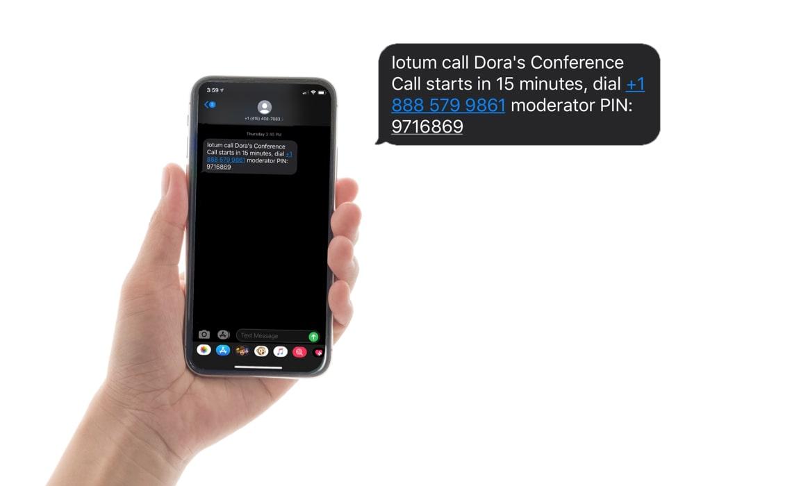freeConference-conference- reminder