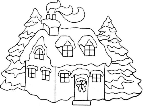 house coloring pages for applique or quilt blocks on