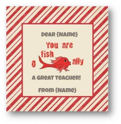 Free Teacher Appreciation Printables Customize Online