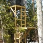 Free Deer Stand Building Plans Blinds Ladder Platform Stands