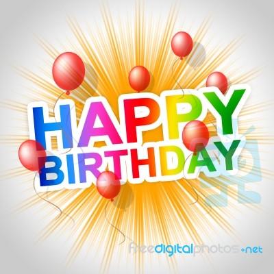 happy birthday means congratulating