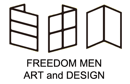 自由人藝術設計 Freedom Men Art & Design Logo