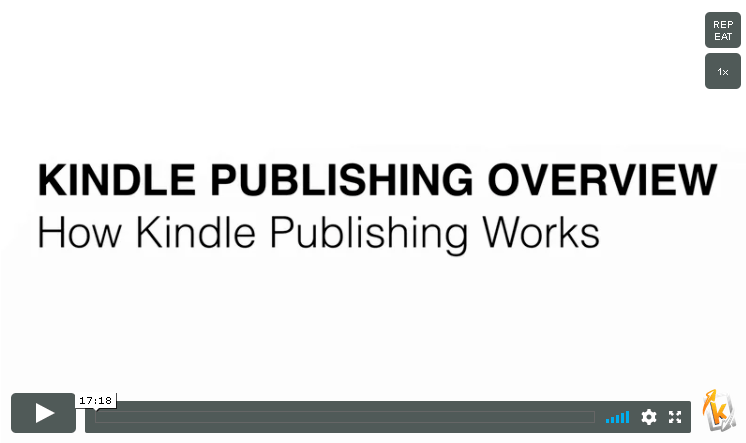kindle publishing overview lesson