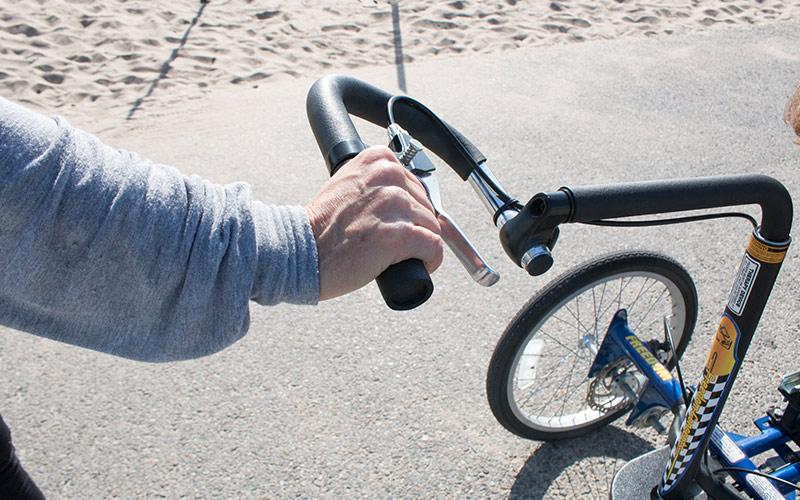 Rear Steering Extension Handle