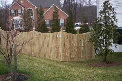 Perry Hall Wood Privacy Fence