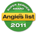 2011 Angie's List Super Service Award
