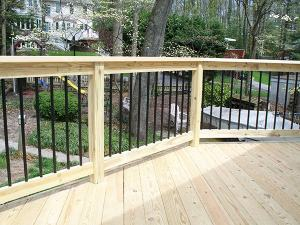 Wood Deck 1