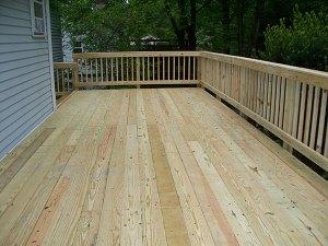 Wood Deck 17