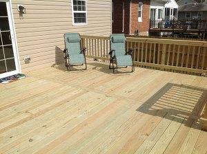 Wood Deck 24