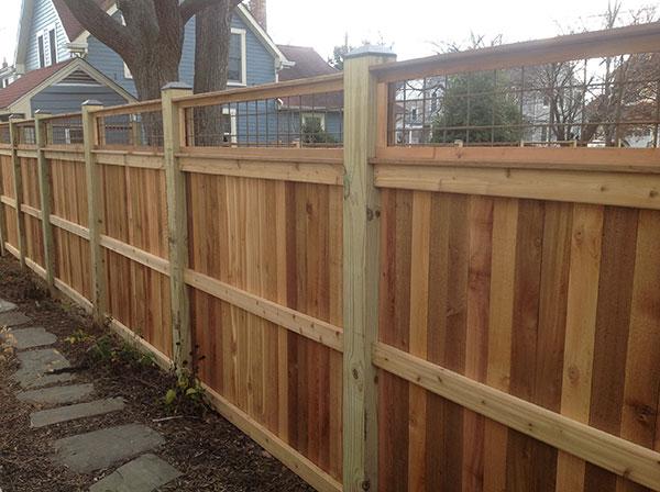 Wood Fence 13