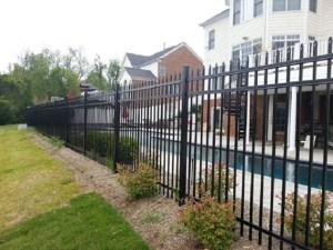 steel and aluminum fencing