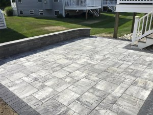 Paver Patio Freedom Fence & Deck