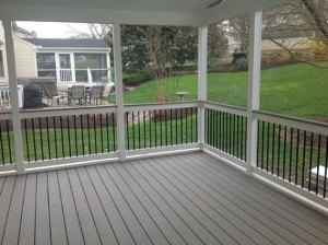 screened porches Freedom Fence