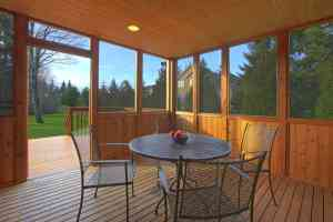 Screened-In Porch Installation Freedom Fence