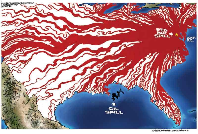 Red Ink Spills DC Inc vs Oil Spills