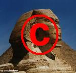 sphinx with copyright logo