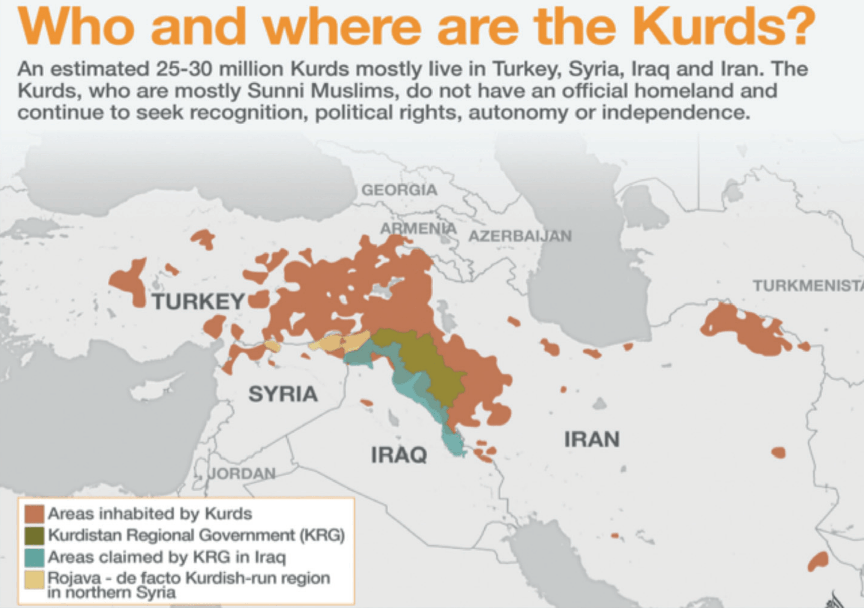 Who are the Kurds? Freedom for ocalan