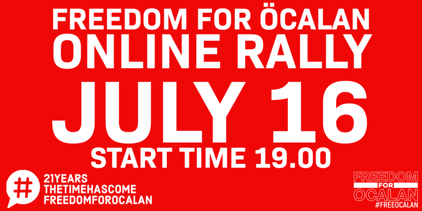The time has come! Online rally July 16th