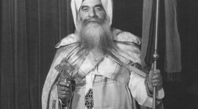 Veneration of St. Pope Kyrillos VI