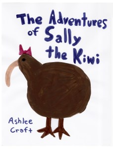 The Adventures of Sally the Kiwi by Ashlee Craft - Cover