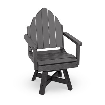 adirondack style dining chairs disability electric deluxe chair with swivel and 20 seat