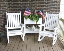 Poly Lumber Outdoor Furniture Recycled Plastic